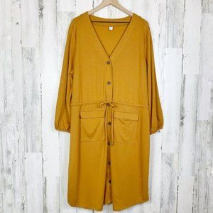 Old Navy NWT Goldie Fawn Ponte Knit Utility Dress